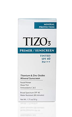TIZO 3 Mineral Sunscreen for face SPF 40, 1.75 oz