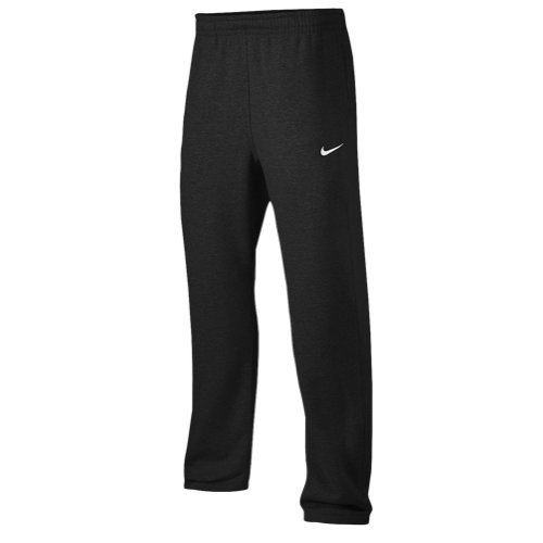 ( Nike Club Swoosh Men's Fleece Sweatpants Pants Classic Fit, XX-Large - Black)