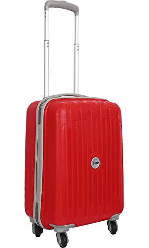 VIP NEOLITE Polypropylene 18.53 L Hardsided 360 Degree Cabin Luggage Red Strolly