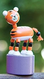 Jack Rabbit Creations Push Puppet - Safari Assorted