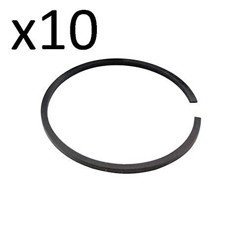 Farmertec 10 Pieces 54x1.2mm Piston Ring for Stihl MS660 Husqvarna Wacker Echo Honda Models