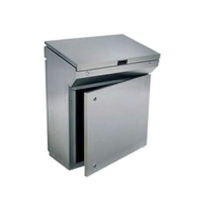 Eldon armario acero inox. - Pupitre 985x1200x400 ip-66/55 ...