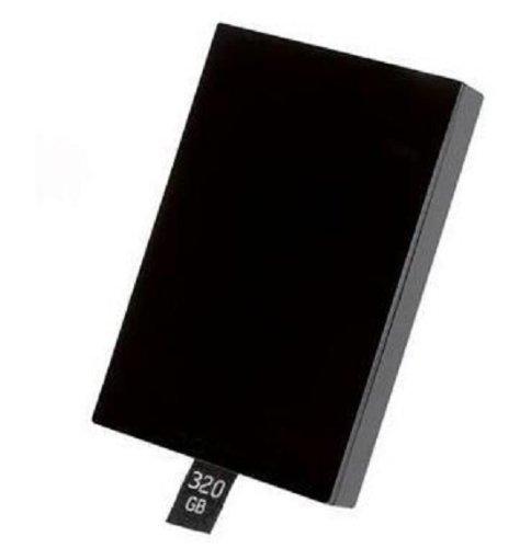 (DragonPad Black 320GB 320 GB Hard Drive Disk HDD for Xbox 360 SLIM.)