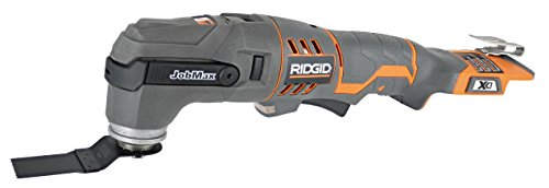 Ridgid R862005 18V JobMax Base and Multi-Tool Head (Battery Not Included, Power Tool ()