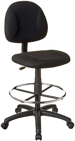 picture of Boss Office Products Ergonomic Works Drafting Chair -out Arms in