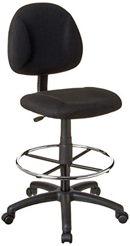 Boss Office Products Ergonomic Works Drafting Chair without Arms in