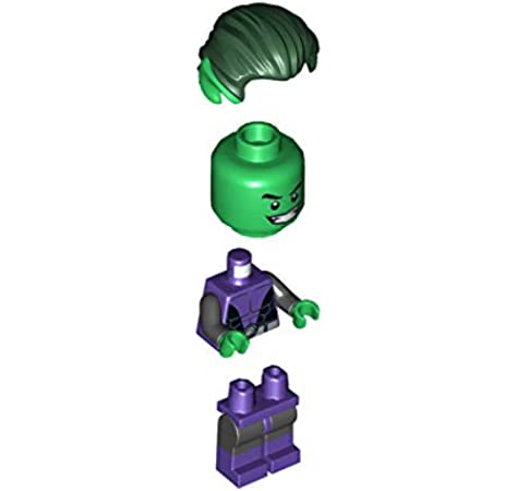 LEGO® Superheroes: Beast Boy Teen Titan Exclusive Minifigure Loose 76035: Amazon.es: Juguetes y juegos