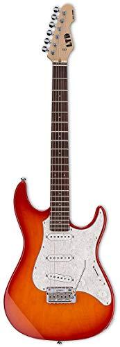 ESP LSN200WRCPRSB Solid-Body Electric Guitar, Copper Sunburst