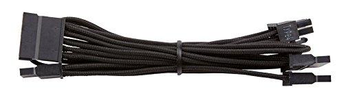 Corsair CP-8920186 Premium Individually Sleeved SATA Cable, Black