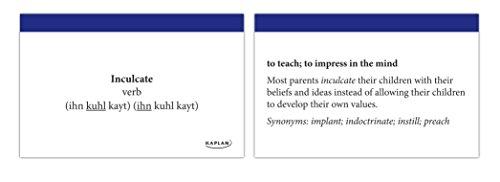 GRE Vocabulary Flashcards + App (Kaplan Test Prep)