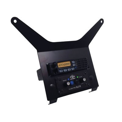 PCI Race Radio and Intercom Mounting Bracket Replaces Stock Storage Box - Fits: Polaris Ranger RZR XP 1000 HIGH Lifter Edit. 2015-2018