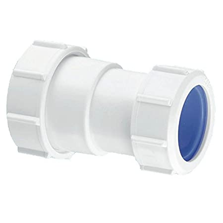 Mcalpine S28L-Iso Multifit Straight Connector Multifit x European Pipe Size White  sc 1 st  Amazon UK : european pipe sizes - www.happyfamilyinstitute.com