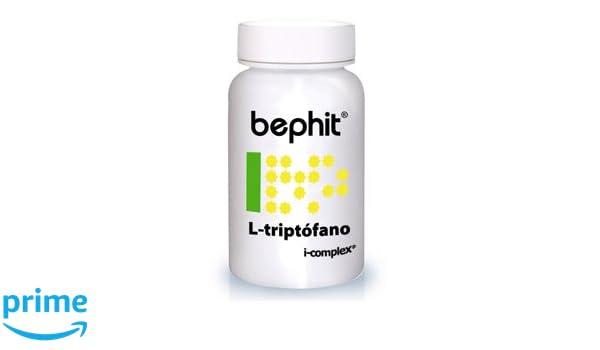 Bephit L- Triptófano + Vitamina B6 + Magnesio 475 Mg Suplemento ...