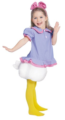 Donald And Daisy Costumes (Disney Daisy Kids Costume Girls 100cm - 120cm 802060S)