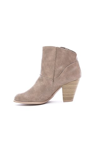 New Women's High Heels Sandals Ankle Boots Zip Open Toes Tassels Shoes Bootie STONE 8