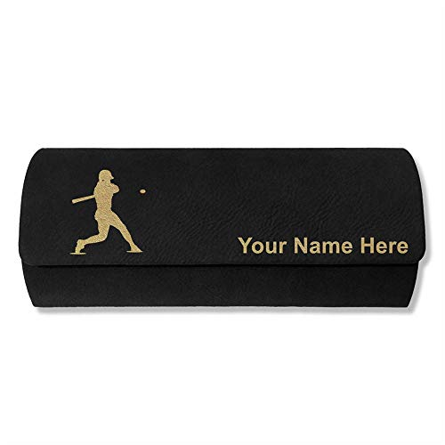 Sunglass Case Baseball Player 3 Personalized Engraving Included