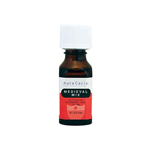 Aura Cacia Essential Solutions Oil Blend, Medieval Mix, 0.5 fluid ounce