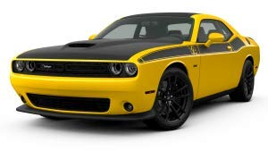(EzInstall Dodge Challenger T/A Side Body Graphics, Fits 2017-2019 Dodge Challengers)