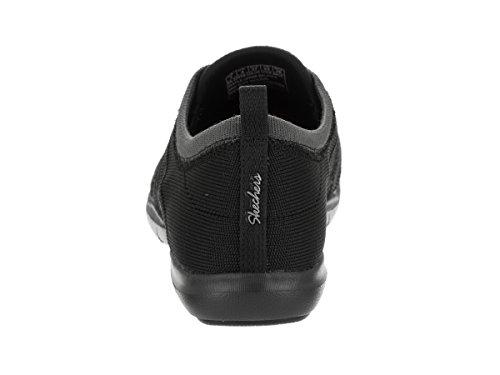 Skechers Kvinna Dreamstep Känsla Bungee Spets Sneaker Svart