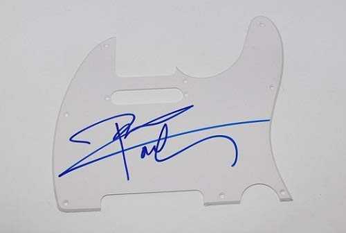 The Who Pinball Wizard Pete Townshend Signed Autographed Fender Telecaster Guitar Pickguard Loa