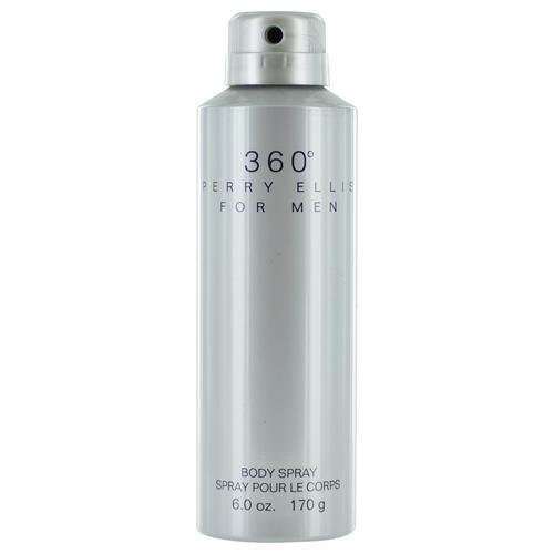 Perry Ellis 360 Deodorizing Body Spray For Men, 6.8 Ounce