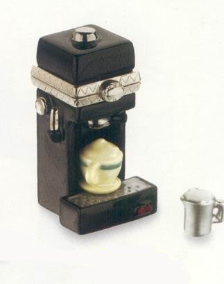Cappuccino Maker PHB Porcelain Hinged Box Midwest of Cannon ()