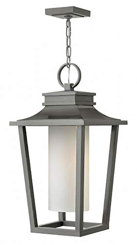- Hinkley 1742HE Sullivan Outdoor Pendant, 1-Light 100 Watts, Hematite