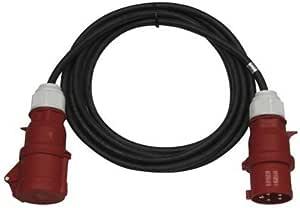 400V Alargador de Corriente Extensible 10M 1 /× Conector 5P 16A