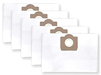 10x bolsas para aspirador tejido Karcher NT 27/1, NT 27/1 ME ...