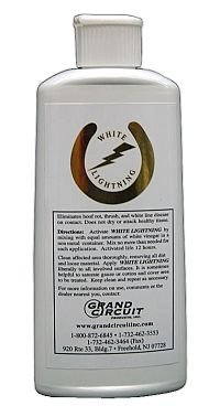 JC Saddlery Grand Circuit White Lightning Hoof Liquid, 8oz by by JC Saddlery
