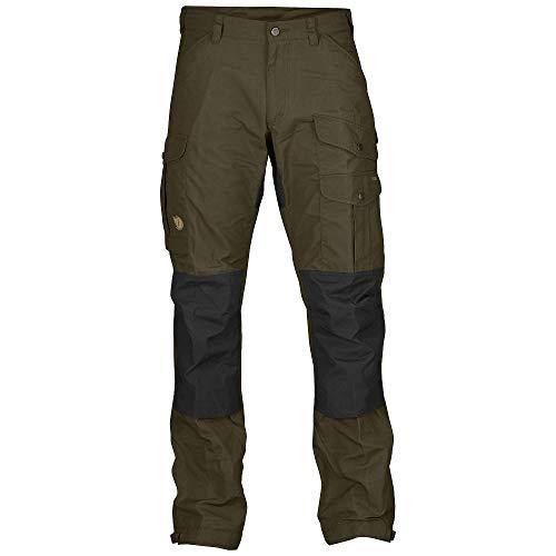 Fjallraven - Men's Vidda Pro Trousers Regular, Dark Olive-Dark Olive, 44 (Four Raven Trousers)