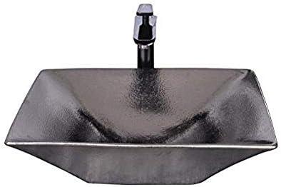 ヨーロピアンスタイルのメタル洗面上記カウンター盆地パーソナリティアート盆地レトロな洗面台のバスルームシンク