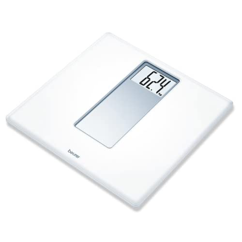 Beurer PS160 Acrylic Electronic Bathroom Scales with Extra Large Display