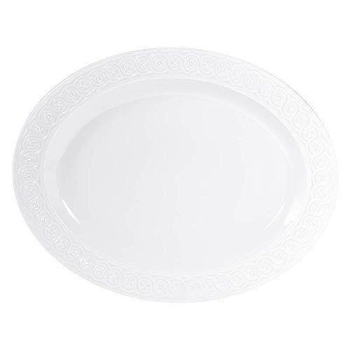 Bernardaud Platter - Bernardaud LOUVRE Oval Platter 16