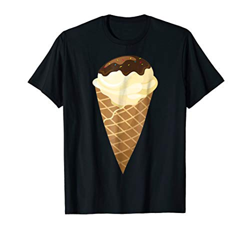 Vanilla Ice Cream Cone Costume T-Shirt]()