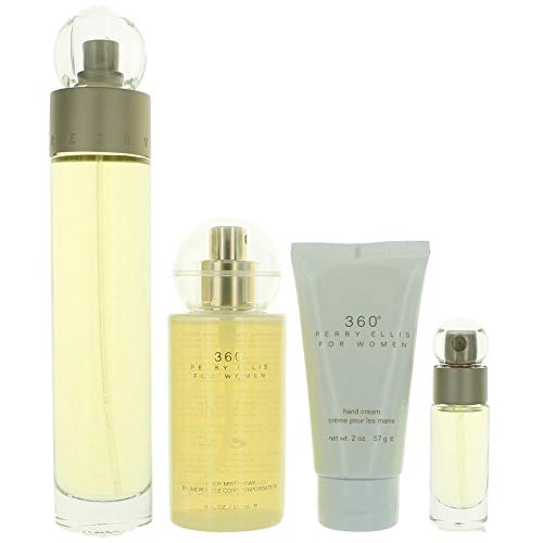 Perry Ellis Fragrances 360 for Women 4-piece Gift Set