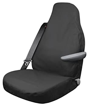Dickies 3000701 Black X Large Heavy Duty High Back Truck Canvas Seat Cover