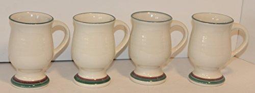(Pfaltzgraff Juniper Set of 4 Pedestal Mugs 5