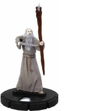 (HeroClix: Gandalf the Grey # 18 (Rare) - Lord of the Rings)