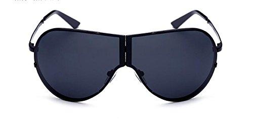 Noir vintage lunettes de en A métallique de retro cercle Frêne Morceau polarisées Lennon du soleil inspirées rond style qax0wqHC