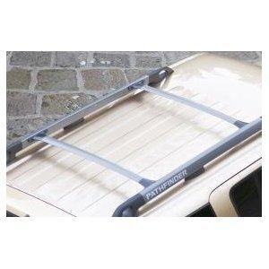 Genuine Nissan Pathfinder Cross Bars Roof Rack Railing Pair Aluminium  KE732EB510