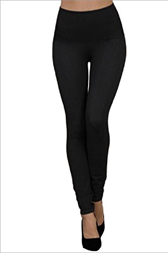 Used, M. Rena High Waisted Denim Leggings B3162 Black Denim for sale  Delivered anywhere in USA