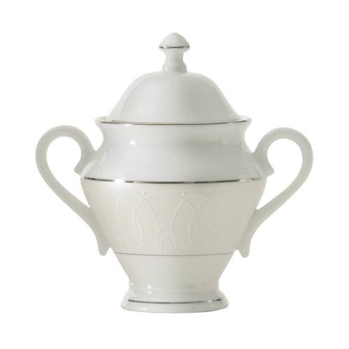 Ballet Icing Pearl 8 oz. Sugar Bowl with Lid