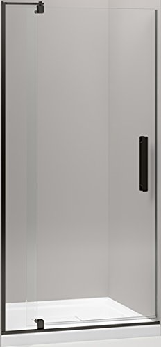 (KOHLER K-707510-L-ABZ Revel Pivot Shower Door with 1/4