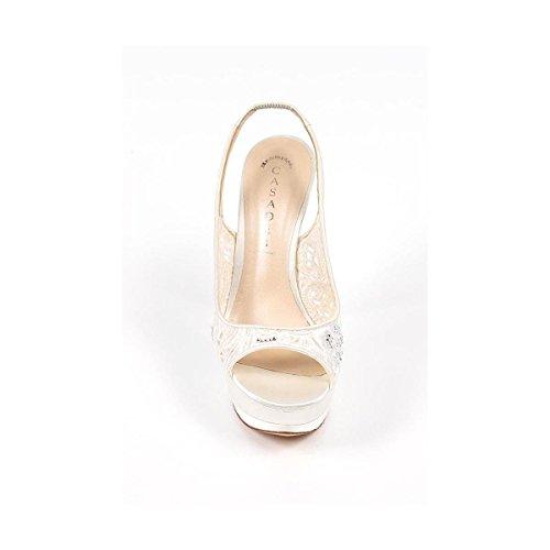Sandali Da Donna Casadei 6426g104.af7raso900 Bianco