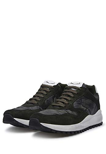 Larry Sneakers Voile 2019 In Camoscio I Blanche wfqRqIz