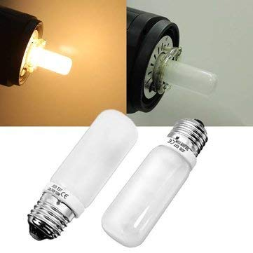 Bumatech E27 Led Bulbs - E27 150w Warm White Studio Modeling Strobe Flash Lightt Lamp Bulb 220v - 110-130v 150w 130v Halogen Bulb Watt Edison 120v Modeling - Watt Studio Flash