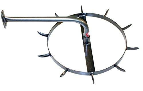 Equiracks Headstall Rack Rotary Organizer 10 Hook Steel Gray HSR10A by Equi-Racks