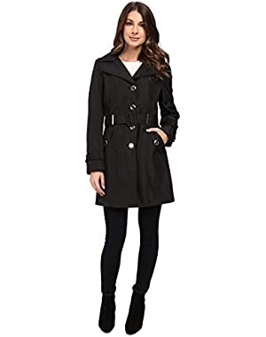Calvin Klein Women's Single Breasted Rain Trench