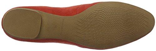 para Coral Mujer Rojo Sandy Cerrada con Punta 73 Vagabond Bailarinas ng86qAqX
